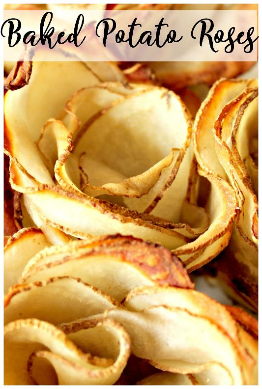 These potato roses are simple to make but look so impressive as a side dish for your dinner table! You can season potato roses a few different ways.