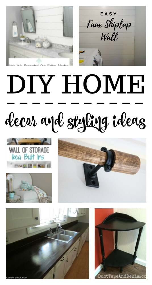 Any one of these DIY Home decor and styling ideas is sure to make an impact on your space!