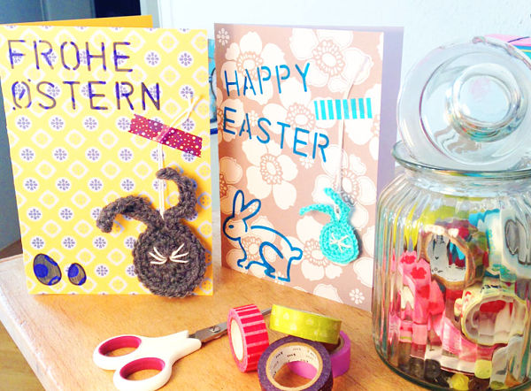 An easy and unique approach to personalizing your cards this Easter!