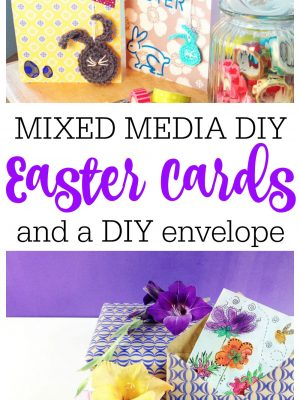 Mixed Media Easter Cards