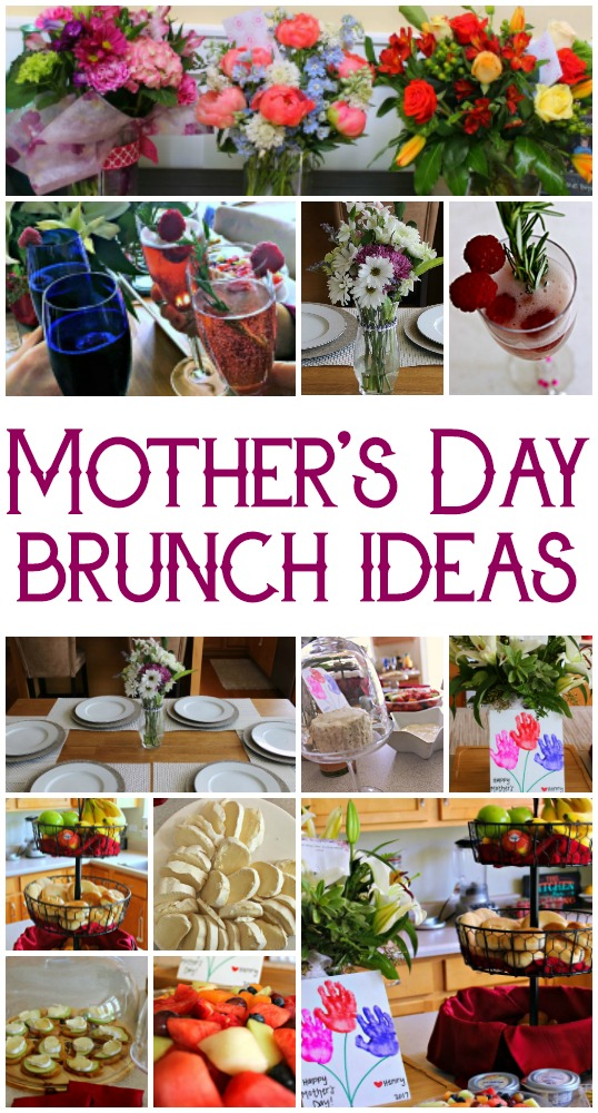 You can throw a beautiful Mother's Day Brunch with these few easy ideas and some delicious Apple Honey Brie Crostini!