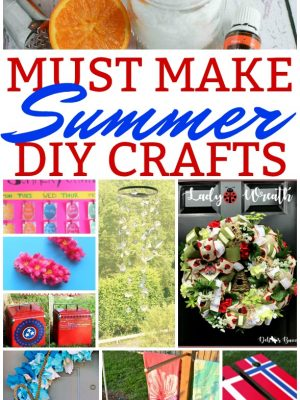 MUST MAKE Summer Crafts {MM #205}