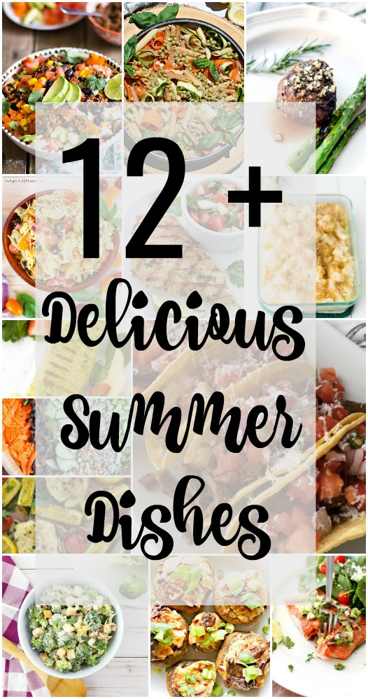 Summer is all about fresh delicious food, so let's try these awesome recipes