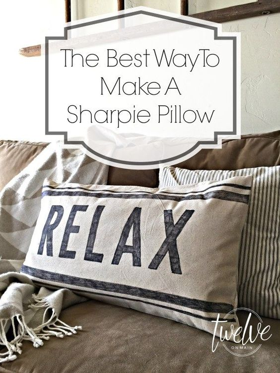 How many Pinterest pins have you hoarded and not gotten around to trying?? Join the #PinterestChallenge and get motivated! I tried out a technique I've been wanting to do for a long time, a DIY Sharpie Throw Pillow! Check out my tutorial along with a bunch of other bloggers' pin ideas! #pinterest #diy #sharpiecrafts #sharpiepillow #diydecor