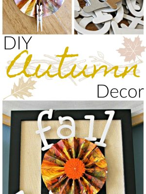 Using up your craft stash is such a great feeling, and this easy DIY Autumn decor was a great way to finally use some old scrapbook paper! This is such a simple tutorial! #craftroomdestashchallenge #diy #autumn #fall #scrapbooking #papercrafts #fallyall #thrifty #fallframe #falldecor #autumndecor