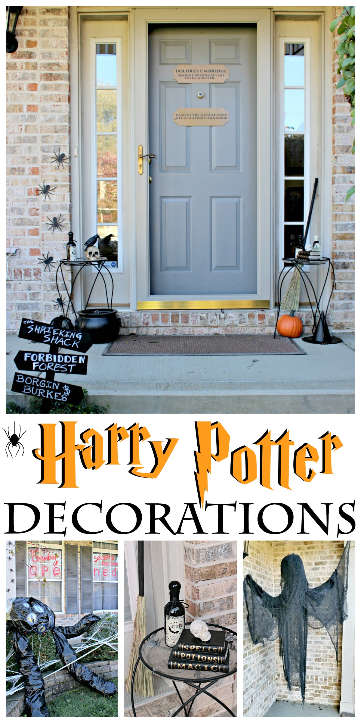 Check Out This Harry Potter Halloween House For Diy Inspiration