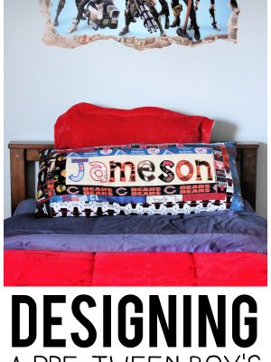 Designing a Pre Tween Boy's Bedroom