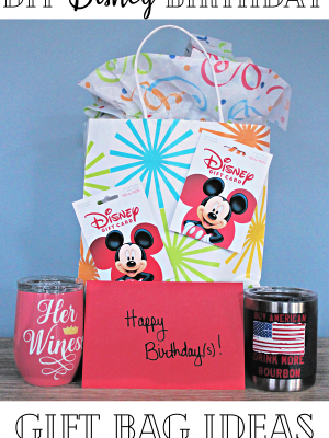 Gift Bag Set for Disney