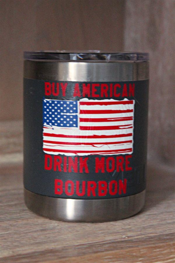 All American Bourbon yeti tumbler