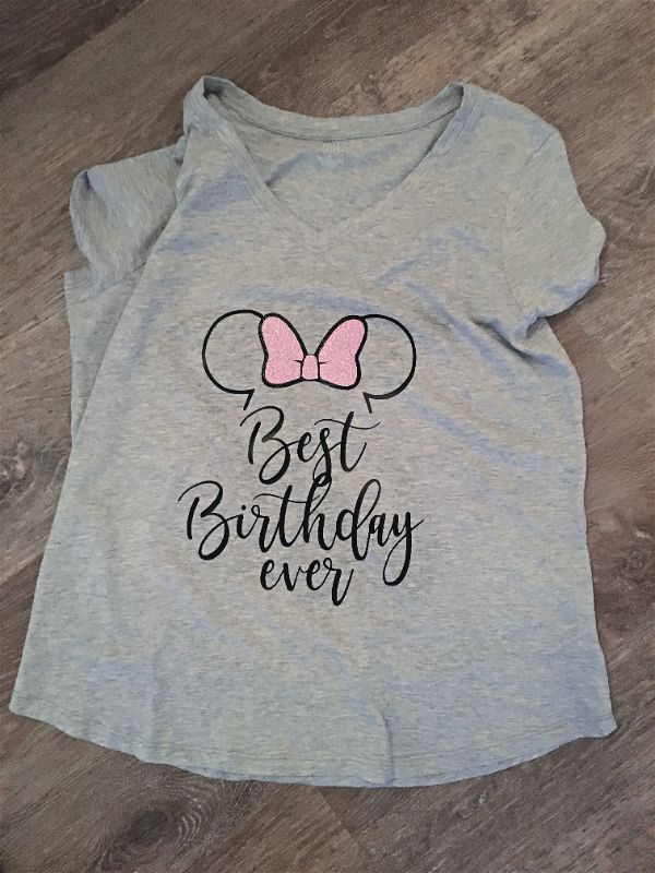 Best Birthday Ever Minnie Mouse Shirt