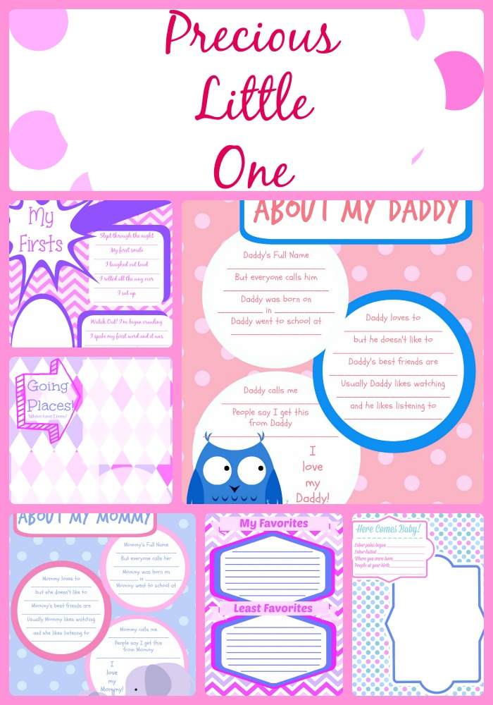 This is a photo of Simplicity Free Printable Baby Book Pages